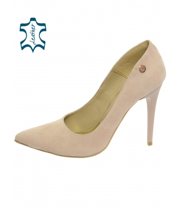 Bézs  romantikus cipő DLO016-1