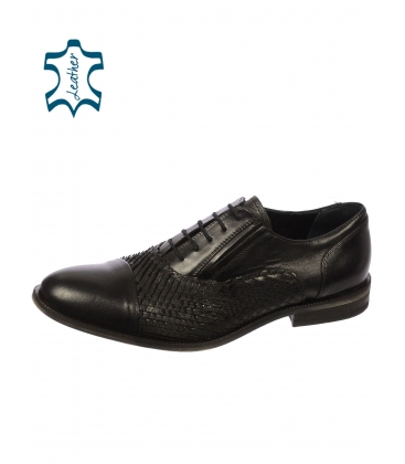 Fekete férfi cipő 607 - Paolo Gianni