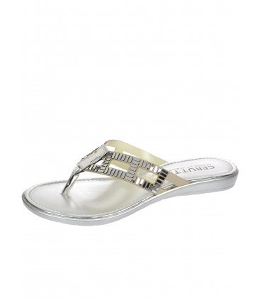Ezüst papucs - 20615 - Cerutti