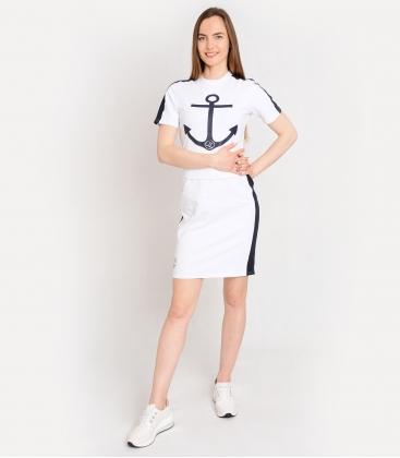 Kék sportruha SOFIA tengeri motívummal