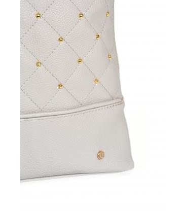 Szürke hátizsák arany IRIS alkalmazásokkal